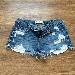 Hollister Denim Shorts  - Sexy Ripped Jeans